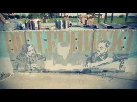 THE BIG LEBOWSKI STENCIL @ PARMA SKATEPARK