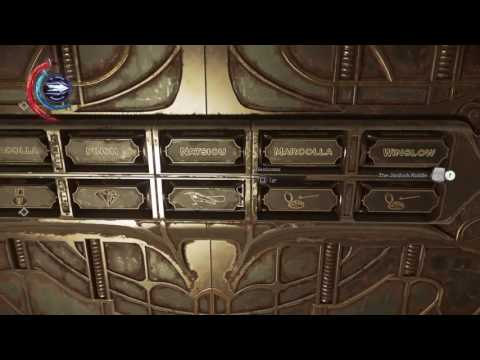 Dishonored 2 Easy Jindosh Riddle Solution