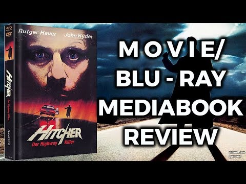 THE HITCHER (1986) - Movie/Mediabook Blu-ray Review