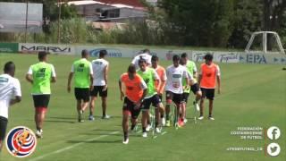 Entrenamiento de la Selección Nacional - 24 de Mayo