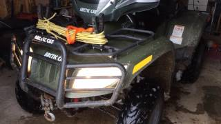 9. 2008 Arctic cat 500 TRV