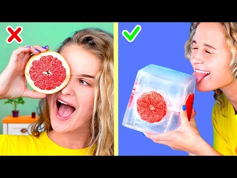 10 Ice Summer Pranks! DIY Giant Frozen Treats And Ideas