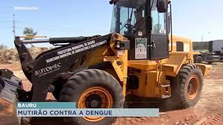 Começou esta semana o mutirão para limpar a cidade da dengue, parceria entre a Prefeitura e a Unimed