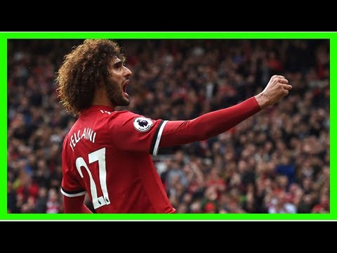 Paper Talk: Monday's Football Transfer Rumours, Including Liverpool's Move For Marouane Fellaini
