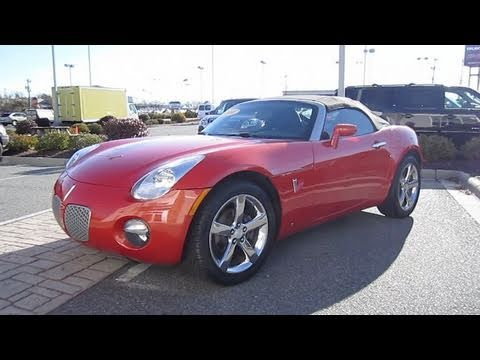 2008 Pontiac Solstice Start Up, Engine, and In Depth Tour