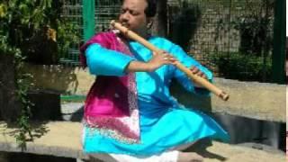 Rajendra Teredesai - Bamboo Flute Meditation Series - 7-Yog Samadhi..mpg