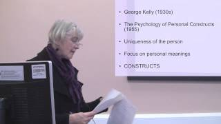 Personal Constructs. Part 1 Of 2 On Personal Construct Psychology