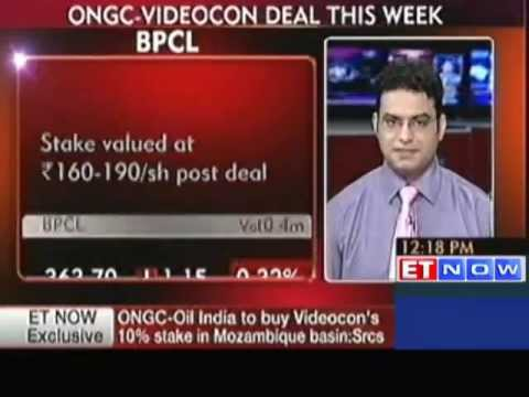 oil - Mozambique Basin : ONGC-Oil India To Buy Videocon's Stake For a quick look at the Day's top business and finance stories, tune into ET Now Youtube Channel. T...