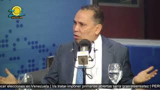 Radhamés Jiménez comenta sobre la ley de partidos y situación en el PLD