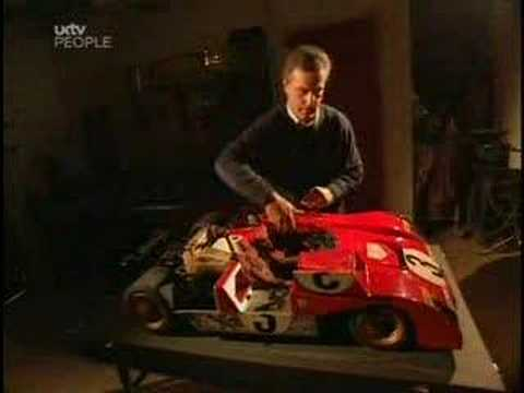 Man Spends 15 Years Building Scale Model Ferrari
