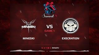 Mineski против Execration, Первая карта, Квалификация на Dota Summit 8