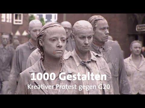 """G20-Gipfel: """"1.000 Gestalten"""" in Hamburg"""