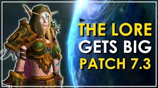 Let's discuss the big lore surprise of Patch 7.3 and how it could impact the future of World of Warcraft.●Patreon - https://patreon.com/bellular●Twitter - https://twitter.com/BellularGaming●I Stream on Twitch.tv! - http://bit.ly/BellularTwitchWoW News Websites- MMO-Champion.com- WoWHead.com- The WoW Devs are on Twitter (http://wow.joystiq.com/2014/02/25/wow-insiders-guide-to-blizzard-twitter-accounts/)