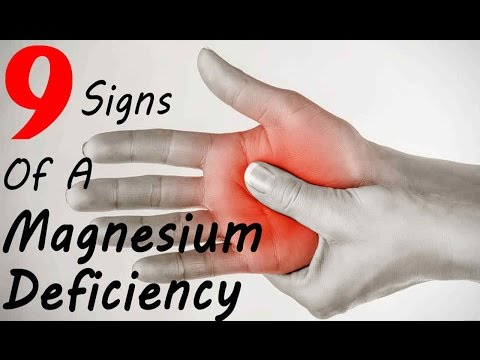 9 Signs You Have a Magnesium Deficiency (видео)