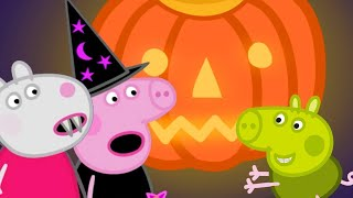 Peppa Pig Official Channel 🎃 Peppa Pig and Suzy Sheep's Pumpkin Party   Halloween Special 🎃