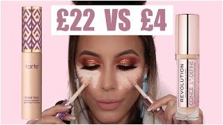 Video MAKEUP REVOLUTION VS SHAPE TAPE | BATTLE OF THE CONCEALERS MP3, 3GP, MP4, WEBM, AVI, FLV Januari 2018