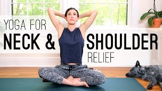 Video Yoga for Neck and Shoulder Relief - Yoga With Adriene MP3, 3GP, MP4, WEBM, AVI, FLV Maret 2018