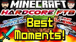 Minecraft HARDCORE FTB Modpack BEST MOMENTS with TheChapsPlay!