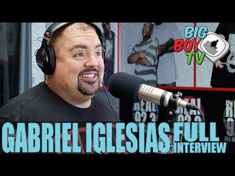Gabriel Iglesias FULL INTERVIEW | BigBoyTV
