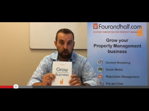 Fourandhalf Internet Marketing eBook for Property Managers