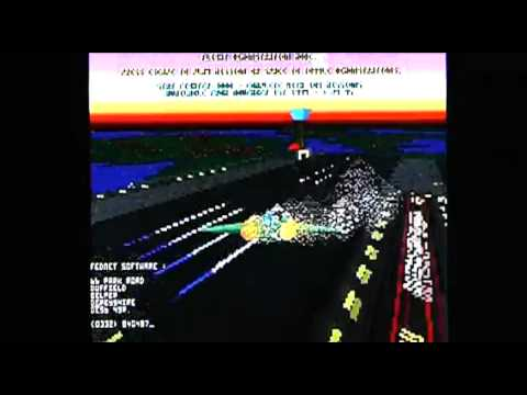 Star Fighter 3000 on Acorn Archimedes A3010. Gameplay & Commentary