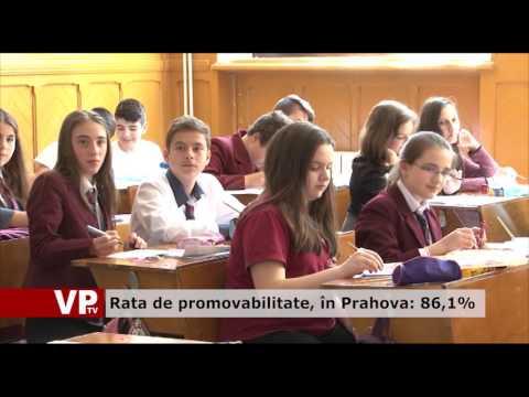Rata de promovabilitate, în Prahova: 86,1%