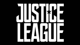 Justice League Logo and Batmobile - logo and first image (2017) by Movie Maniacs