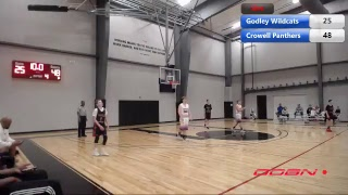 CROWELL PANTHERS VS GODLEY WILDCATS