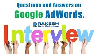 Google Adwords Interview Questions And Answers