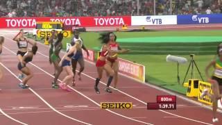 Video Brilliant run by Team Jamaica and USA in women's 4x400m Final World Champs 2015 MP3, 3GP, MP4, WEBM, AVI, FLV Maret 2019