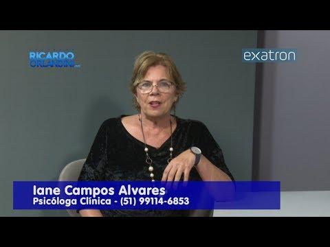 Ricardo Orlandini entrevista a psicóloga Iane Campos Alvares.