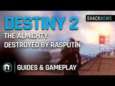The Almighty Destroyed By Rasputin - Destiny 2 Special Event