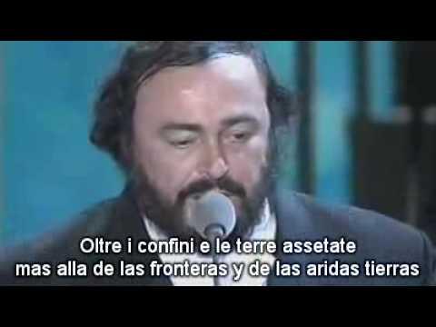 bono and pavarotti - miss sarajevo