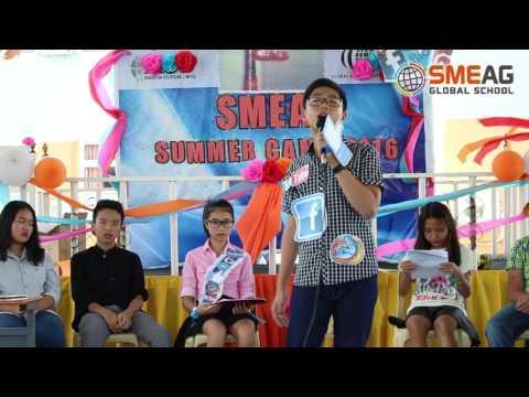 Thi hùng biện của học sinh trại hè SMEAG 2016