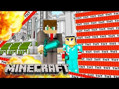 Minecraft – EPIC MEGA TNT EXPLOSIONS!!! Minecraft TNT Explosion! (Funny Minecraft Gameplay)