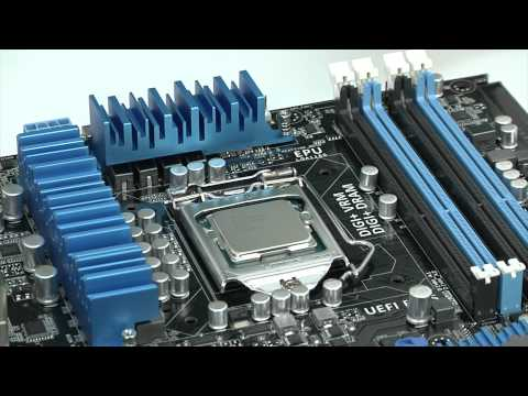 install - Learn from JJ how to install your CPU, Fan Cooler, and Memory on the ASUS P8Z77-V Pro motherboard. ASUS P8Z77-V Pro Motherboard ASUS AMD Series Radeon HD 777...