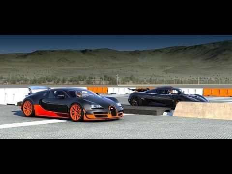 Koenigsegg one 1 vs bugatti снимок