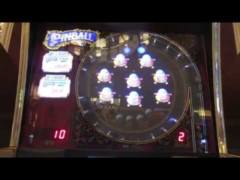 $5 Pinball Slot Machine-Big Win at the end-4 bonuses!