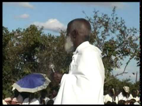 paul mwazha - The African Apostolic Church at Guvambwa in August 2008, Leaders holy convocation. The Teaching, persuades the leaders to pay reverence to the Almighty God a...