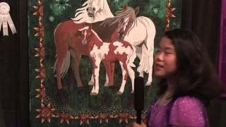 Houston Quilt Festival 2012 - Sophie Rubin - Kids Eye Review