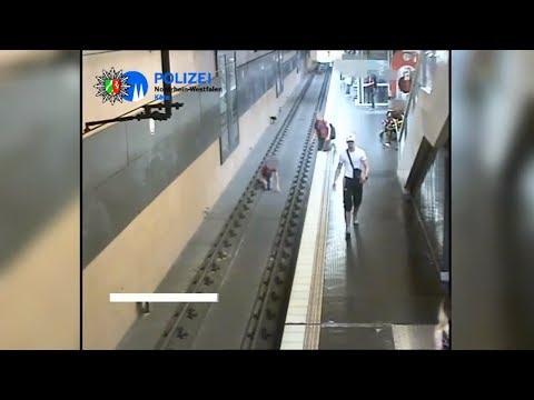 Köln: Mutmaßlicher U-Bahn-Schubser stellt sich der Po ...