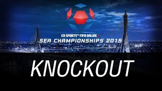 [ KNOCKOUT ] FIFA ONLINE 3 SEA CHAMPIONSHIPS 2015, fifa online 3, fo3, video fifa online 3