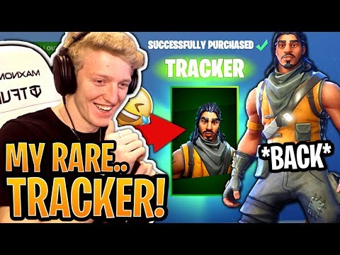 "Tfue BUYS And Loves His *RARE* ""Tracker"" Skin! (SEASON 1 SKIN) - Fortnite Best And Funny Moments"