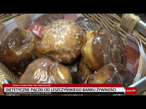 Wideo1: Dietetyczne pączki na tłusty czwartek od Leszczyńskiego Banku Żywności