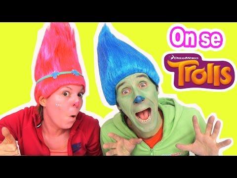 On se TROLLS - Tuto maquillage princesse Poppy & Branche !