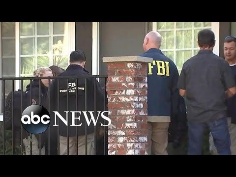 FBI searches home of suspected gunman in California mass shooting