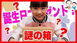 12歳の誕生日に謎の箱が届きました!!! ベイビーチャンネル