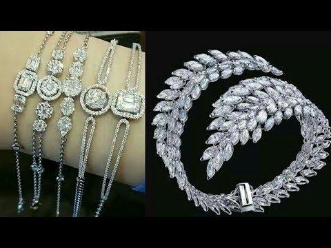 Latest Silver Bracelet Jewellery For Girls 2017-18