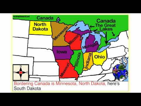 Mid-western U.S.A. Geography Song