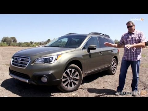 2015 Subaru Outback 2.5i Limited Test Drive and Video Review